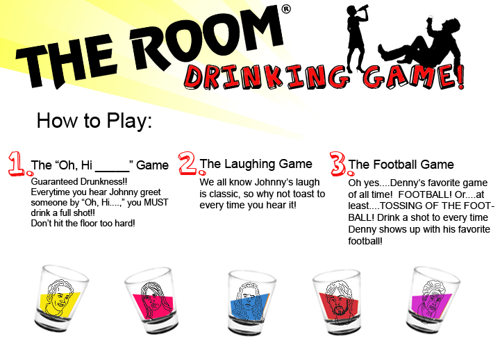 The Room Drinking Game