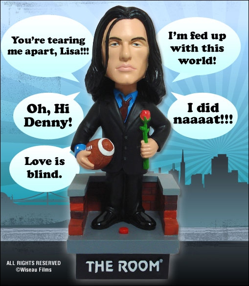 Talking Johnny Bobble Head from The Room