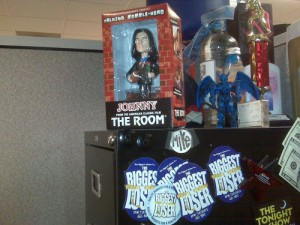 Mike's Bobble Head at Work