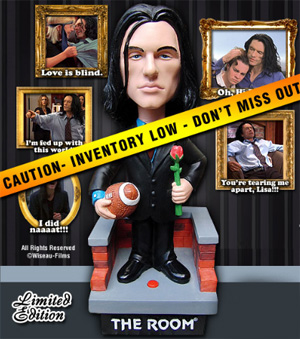 Tommy Wiseau Bobblehead